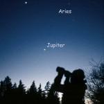 Venus, Jupiter och Aries