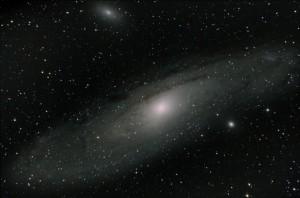 Andromedagalaxen - M31