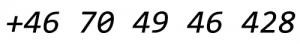 Swishnummer